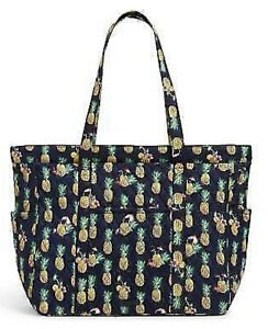 Vera Bradley Quilted Get Going Tote Bag Toucan Party NWT New