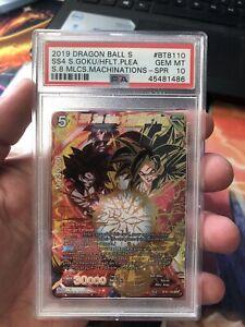 SS4 Son Goku, a Heartfelt Plea BT8-110 SPR PSA 10 Dragon Ball Super Card Game