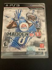 PS3G620 Madden NFL 13 (Sony PlayStation 3, 2012) GET IT FAST ~ US SHIPPER