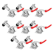 8 Pack 201 Horizontal Toggle Clamps Steel Antislip Grip Quick Release Hand Tool