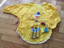 Crayola Mini Kids, Painting Pens, Red Yellow Black Sponge Applicator & Apron  #1