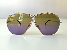 vintage ZOLLITSCH LUV Maritim silver/gold NOS rare sunglasses Germany 80s large