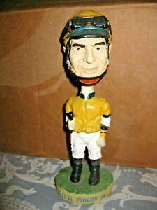 Hollywood Park Horse Race Nodder Jockey Bobblehead