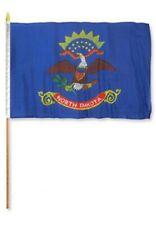 North Dakota 12x18in Stick Flag Pack of 10