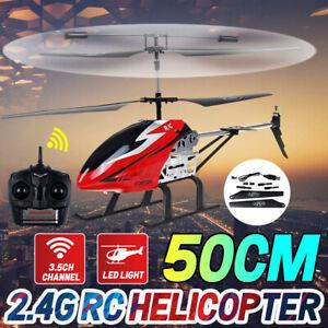 RC Helikopter Ferngesteuerter Hubschrauber 2.4GHz Spielzeug Heli 3,5 Kanal LED