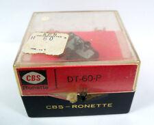 Vintage CBS Ronette Phonograph Cartridges & Needles -  DT-60-P Cartridge