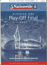 Preston North End Away Team Final Football Programmes