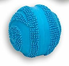 "COASTAL RASCALS BLUE 2.5"" MINI LATEX SPINY BALL DOG TOY. FREE SHIP TO THE USA"