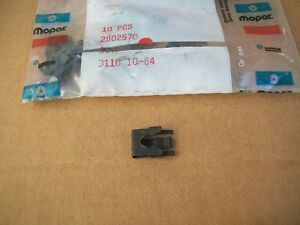NOS Mopar Chrysler Dodge Plymouth Door Latch Outside Handle Rod Clip Retainer
