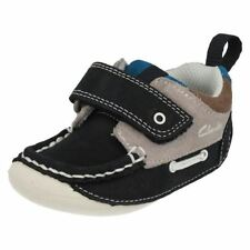 Chaussures décontractées bleus avec attache auto-agrippant pour garçon de 2 à 16 ans