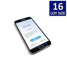 Lot of 16 Samsung Galaxy S6 (Sm-G920V) 32Gb Blue/White (Verizon) Smartphones