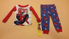 Marvel Ultimate Spider-Man Toddler Boy Long Sleeve Pajamas 24 Months New