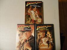 Indiana Jones And The Raiders Of The Lost Ark, Last Crusade & Crystal Skull Dvd