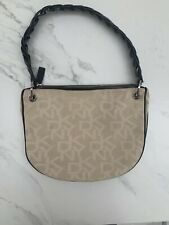 dkny monogram bag shoulder bag