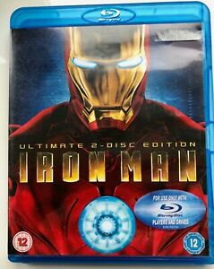 Iron Man (Blu-ray, 2008, 2-Disc Set, Box Set)