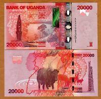 Uganda, 20000 (20,000) Shillings, 2015, P-53-New, UNC