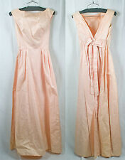 Sex & The CIty Vintage 60s Emma Domb Pink Ribbon Formal Dress!! Size 10 or XXS