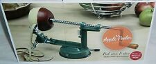 APPLE PEELER,CORER  AND SLICER  Red  Cast Steel Construction