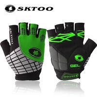 SKTOO summer Men mtb bike cycling bicycle gloves half finger Cycle glove gel pad