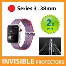 Apple Watch Series 3 38 mm Proteggi Schermo scudo invisibile-Confezione da 2