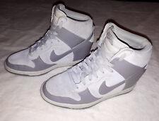 Ladies Nike Dunk Sky-Hi Hidden Heel Trainers 528899-005 UK 6 EU 40 US 8.5
