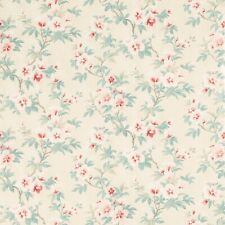 Laura Ashley Rosamond Pale Cranberry Wallpaper (Same Batch) * FREE POSTAGE *