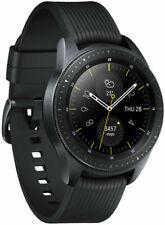 Samsung Galaxy Watch 42mm Cassa Nera, Cinturino Silicone Nero, Orologio...