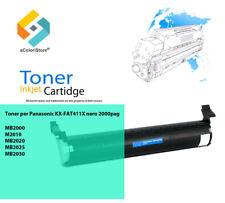 CARTUCCIA Toner compatibile con Panasonic kx-fat411x BLACK NERO KX-MB 2001 GB