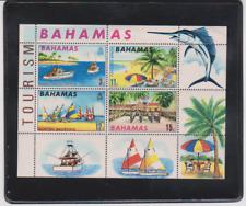 BAHAMAS 1969 Souvenir Sheet Mint Scott Catalog # 293a   TOURISM   GAME FISHING