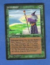 MTG MAGIC THE GATHERING GREEN RARE GERMAN REVISED FASTBOND x 1 OOP FBB LIKE BETA
