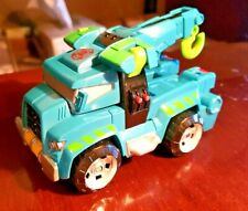 TOMY HASBRO TRANSFORMERS RESCUE BOTS HOIST TOW TRUCK COOL TOY! (615)