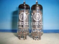E182cc # Valvo/Philips # nos # matched and balanced pair # same código # (726)
