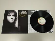 JJ11- MELISSA ETHERIDGE BRAVE AND CRAZY  LP VIN POR VG + DIS VG ++ 1989 ESP