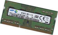Samsung 1x 4 Go 204 pin ddr3l-1600 SO-DIMM (1600 Mhz, pc3l-12800s, cl11, 1.35 V