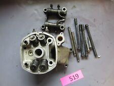 honda cx500T cx500 turbo LH left engine cylinder head valves 82 1982