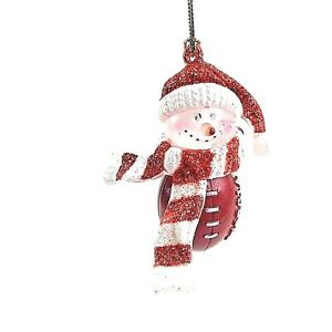 Georgia Bulldogs - Collegiate Series Touchdown Snowmen Christmas Ornament