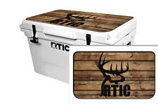 24mil Wrap for RTIC  65qt Cooler LID KIT Skin Accessory RTIC Buck Cross