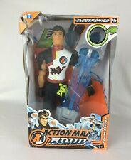 Action Man ATOM 2006 Hasbro Alpha Teens On Machines 12 Inch Power Surfer New