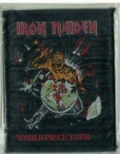 Patch klein 80er/90er IRON MAIDEN World Piece Tour