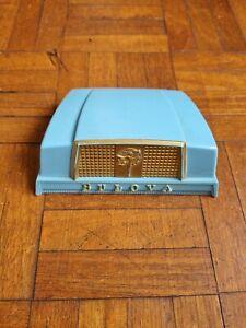 *RARE* 1950's BULOVA 'FIFTH AVENUE' Plastic Watch Box - American Lady Baby Blue