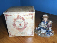 1995 Yesterdays Child Dollstone Boyd's Bear Ashley with Chrissie Figurine