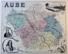 AUBE - kolorierter Kupferstich - ca. 1840 - Isidore - Ales - (05