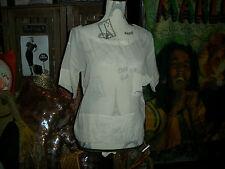 KAIN LABEL Adorable Khaki Silk Blouse Size P