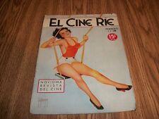 VINTAGE MAGAZINE~ EL CINE RIE 1935 FEBRERO .15 O.A.