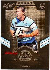 2012 SELECT NRL DYNASTY LEAGUE LEADERS GOLD #LLG4: PAUL GALLEN #121/150 SHARKS