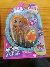 Shopkins Lil' Secrets Shoppie Tia Tigerlily Doll New Unopened