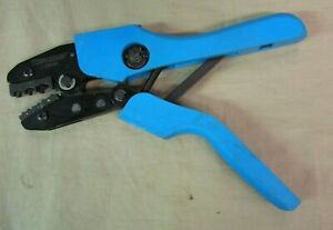 """Used WESTWARD 13H896 9"""" Ratcheting Crimper 20 to 10 AWG"""