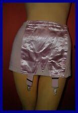 Hoher Vintage Zewus Strapsmieder Hüfthalter Gr. 85 rosa Pin Up Girdle  (H133)