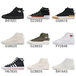 adidas Originals Nizza Hi Men Unisex Casual Lifestyle Shoes Sneakers Pick 1