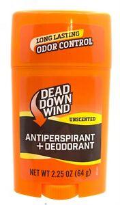 Dead Down Wind Unscented Antiperspirant + Deodorant Stick 2.25 oz 6050498